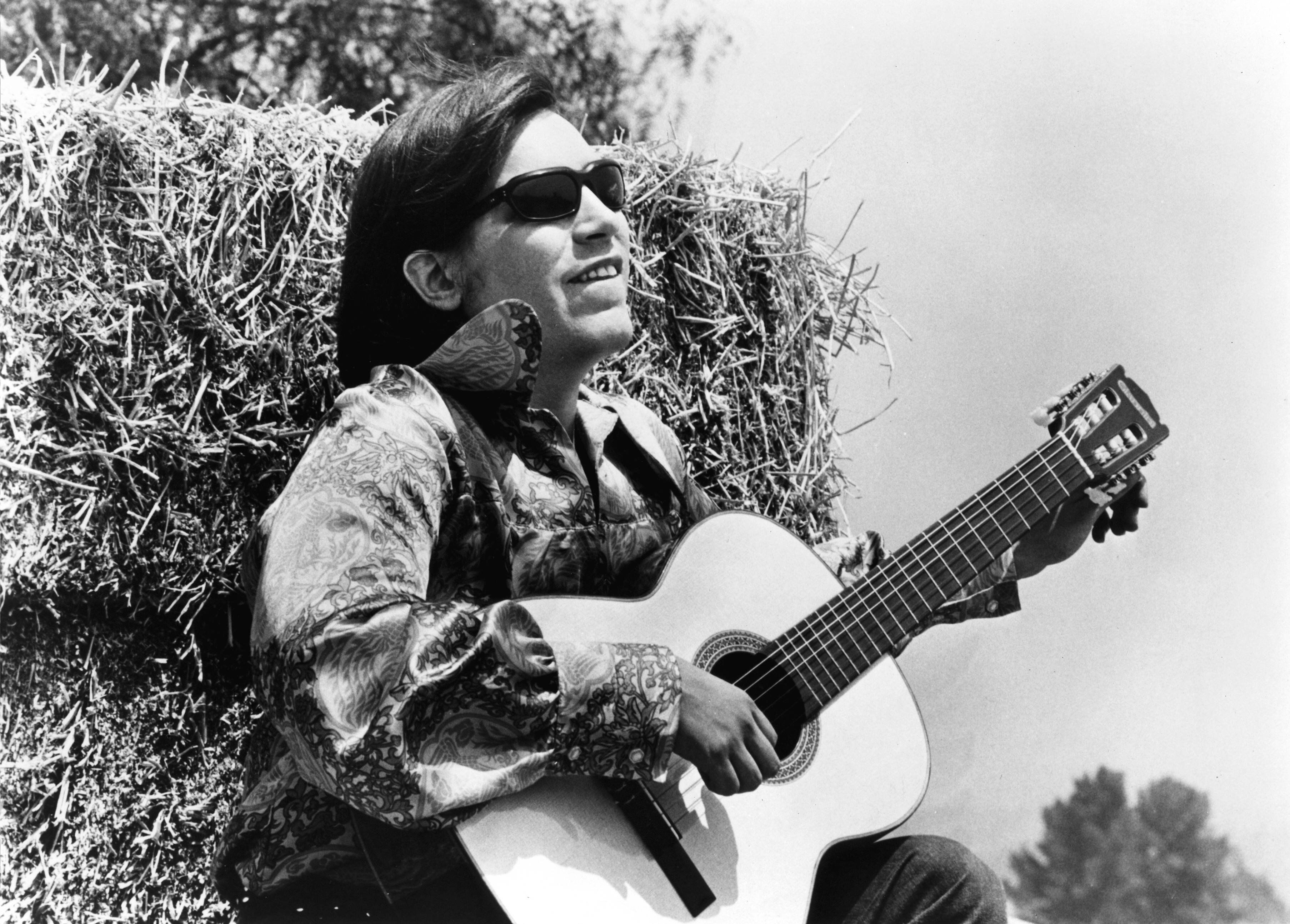 """José Feliciano started playing the guitar at 9 years old.""""I fell in love with the guitar. I heard the guit"""
