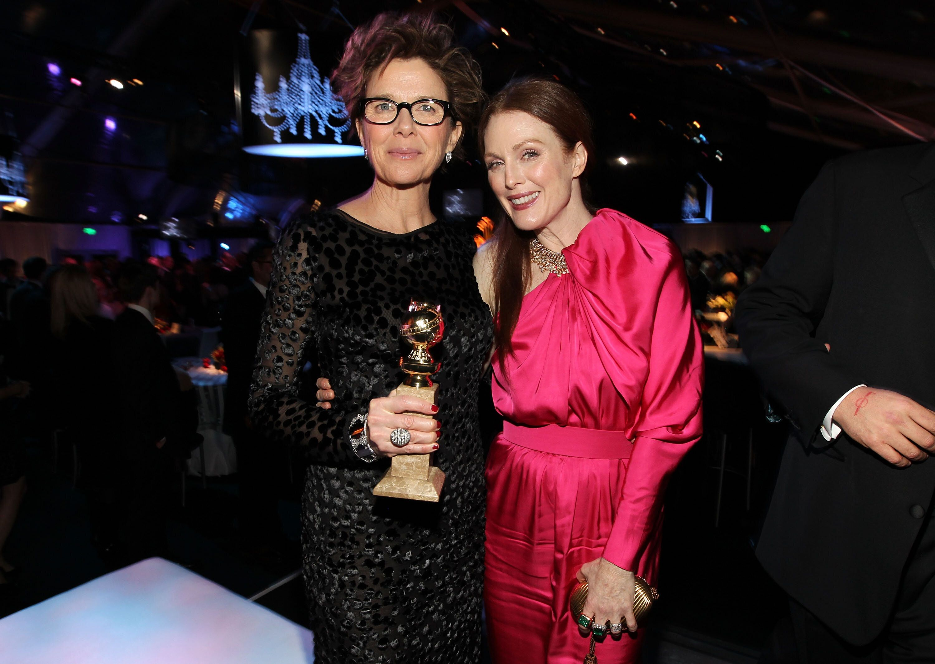 Annette Bening and Julianne Moore in January 2011.