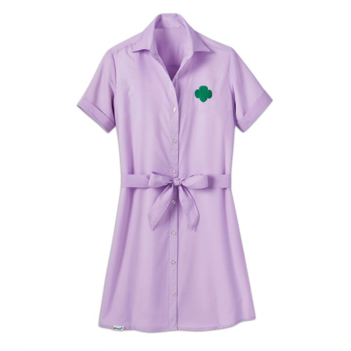 "<a href=""https://www.girlscoutshop.com/lilac-chambray-shirt-dress"" target=""_blank"" rel=""noopener noreferrer"">Lilac Chambray Shirt Dress, $39&nbsp;</a>"
