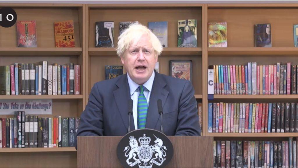 No, A School Librarian Didn't Arrange Those Books To Troll Boris Johnson