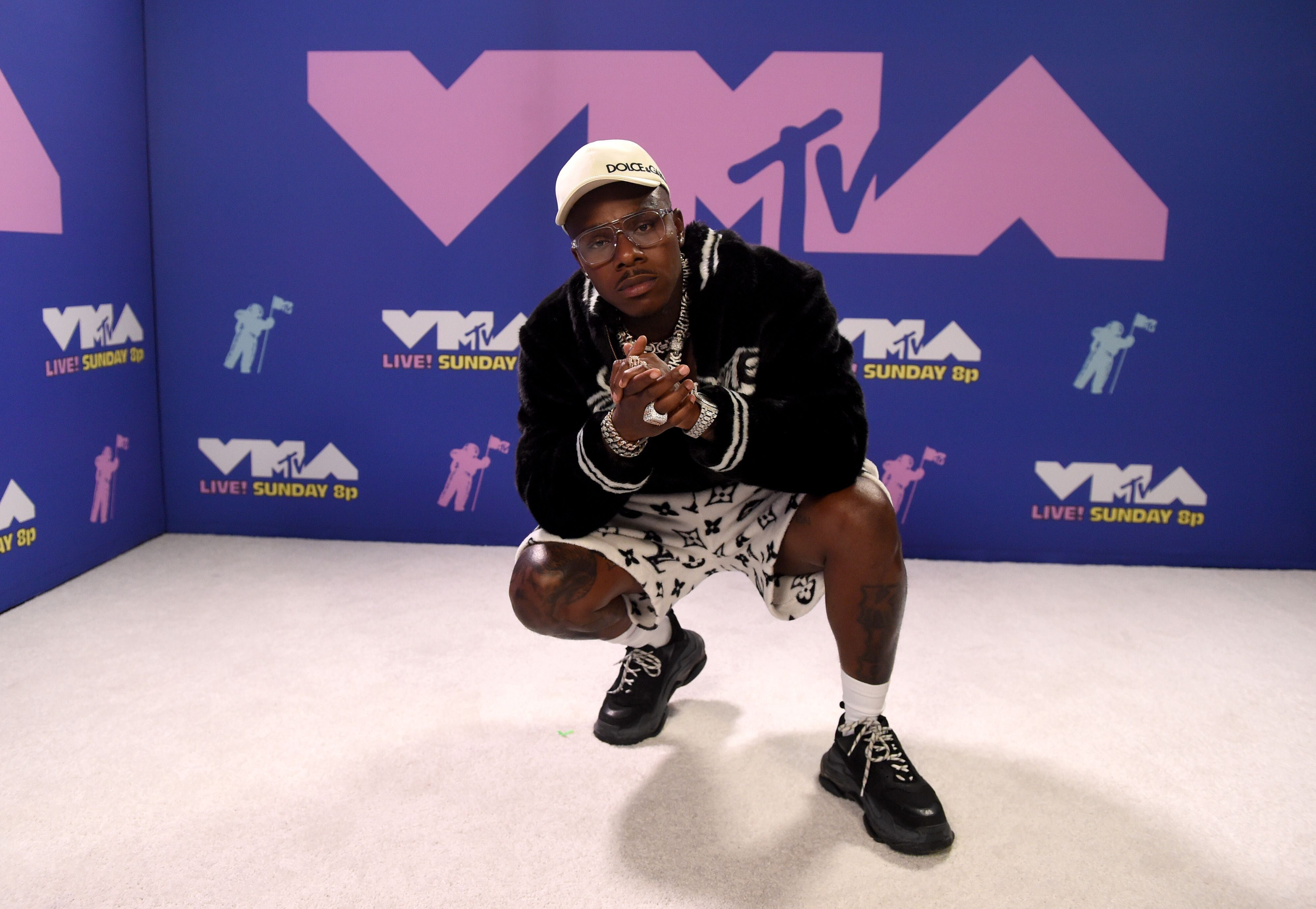 UNSPECIFIED - AUGUST 2020: DaBaby attends the 2020 MTV Video Music Awards, broadcast on Sunday, August 30th 2020.  (Photo by