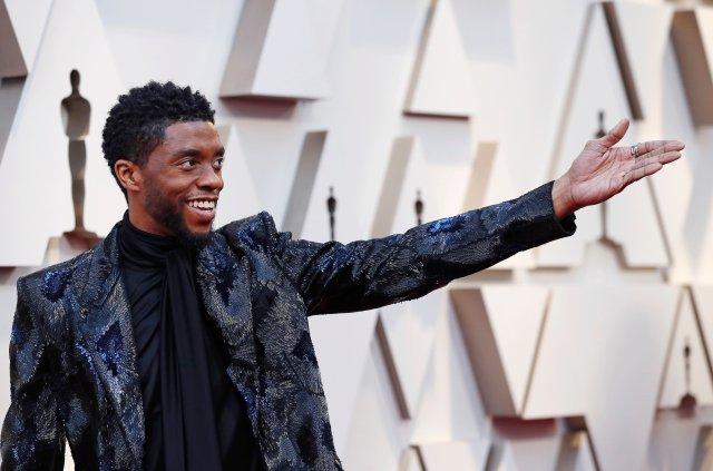 Boseman at the 2019 Oscars ceremony.