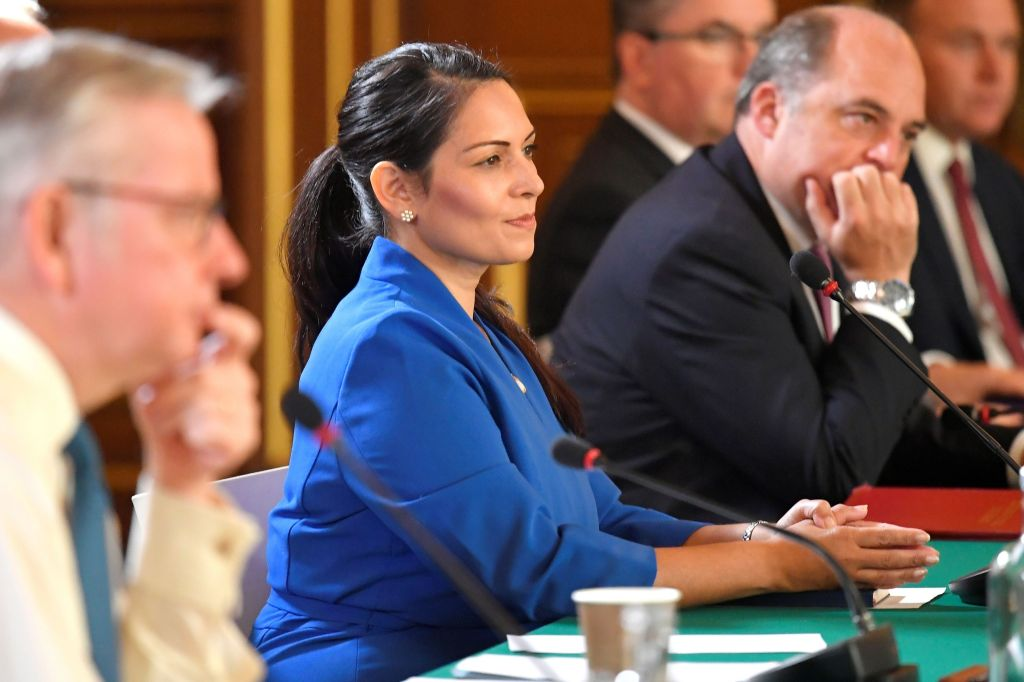 Priti Patel Complains About 'Activist Lawyers' Attempting To Halt Deportation Of Migrants