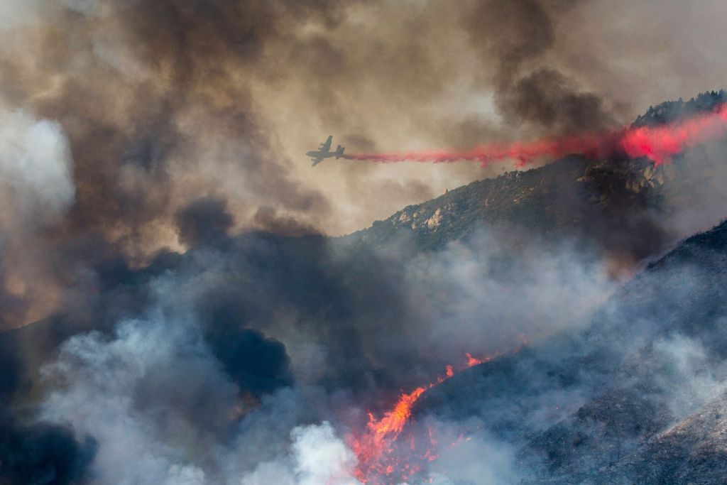 California Wildfire Started During A Gender Reveal Party, Officials Say