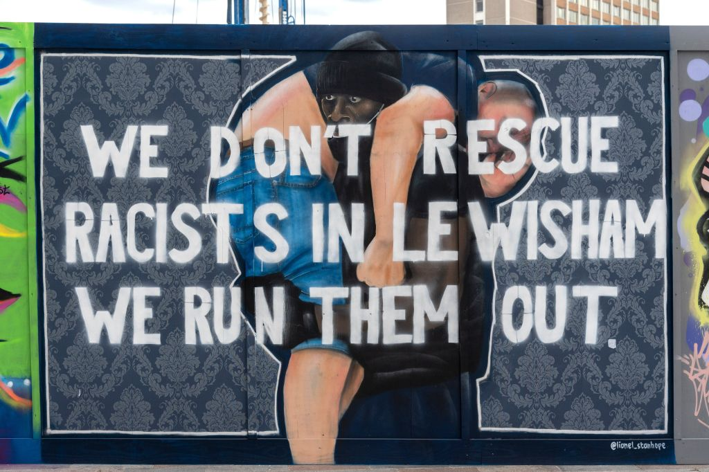 Anti-Racist Mural In London Is Latest To Be Targeted Following Black Lives Matter Protests
