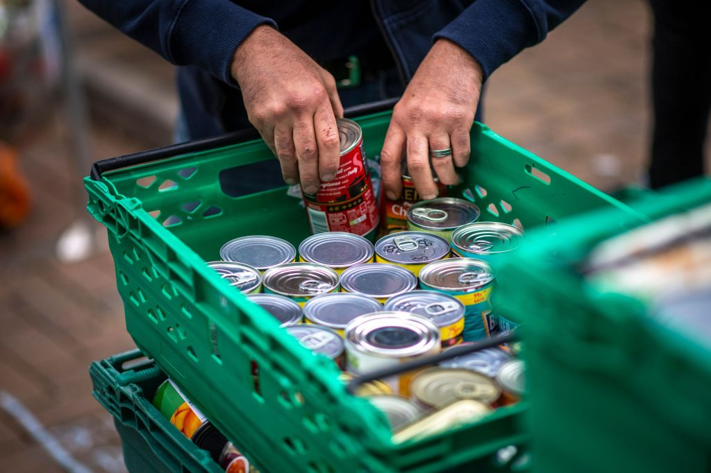 100,000 Households Used Food Banks For The First Time During Lockdown – – And Demand Is Set To Rise
