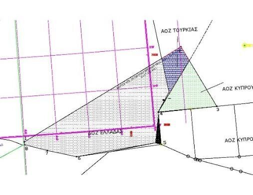 Σχήμα 1: Όρια NAVTEX