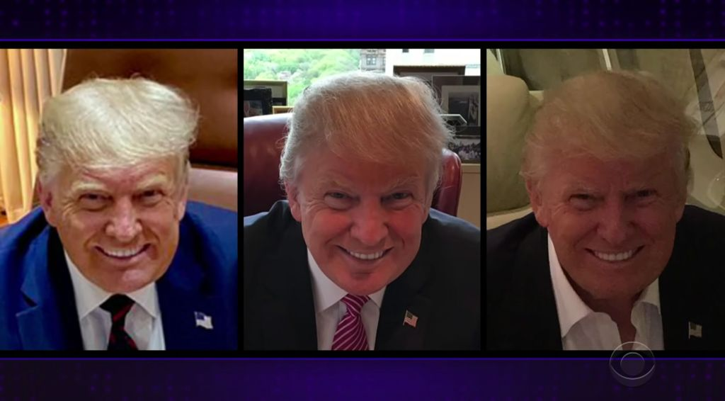 James Corden Notices A Weird Pattern With Trump's Photos