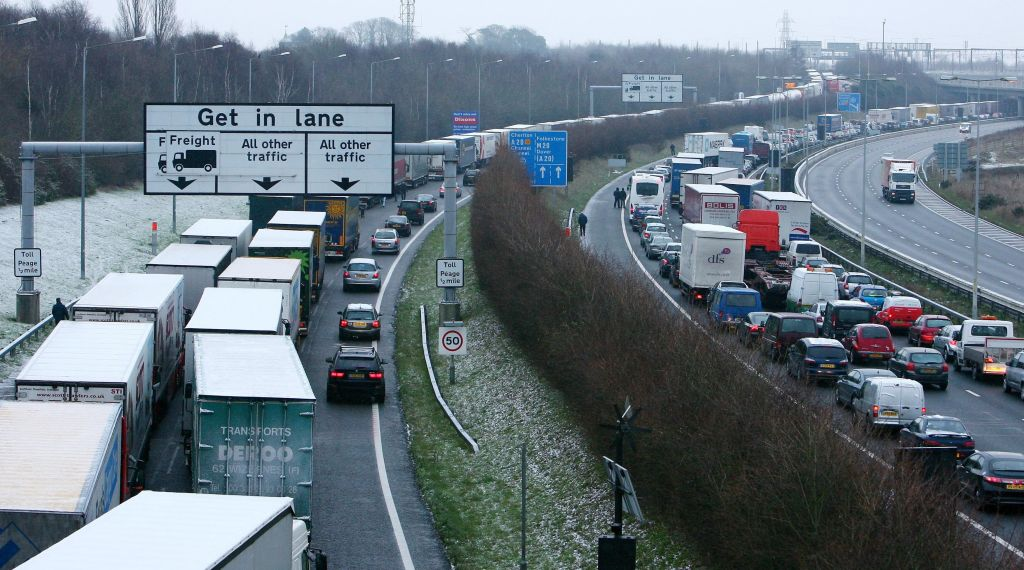 Leaked Brexit Letter Warns Of Gridlocked Lorries And Traffic Chaos In Kent