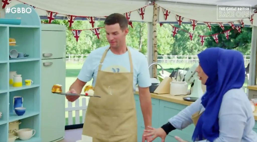 Great British Bake Off Viewer's Hearts Are In Their Mouths After Nightmare Situation Strikes One Unlucky Baker
