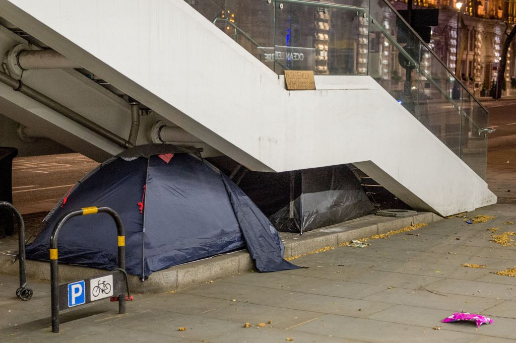 Rough Sleepers Face Choosing Between 'Horrific' Violence Or Catching Coronavirus