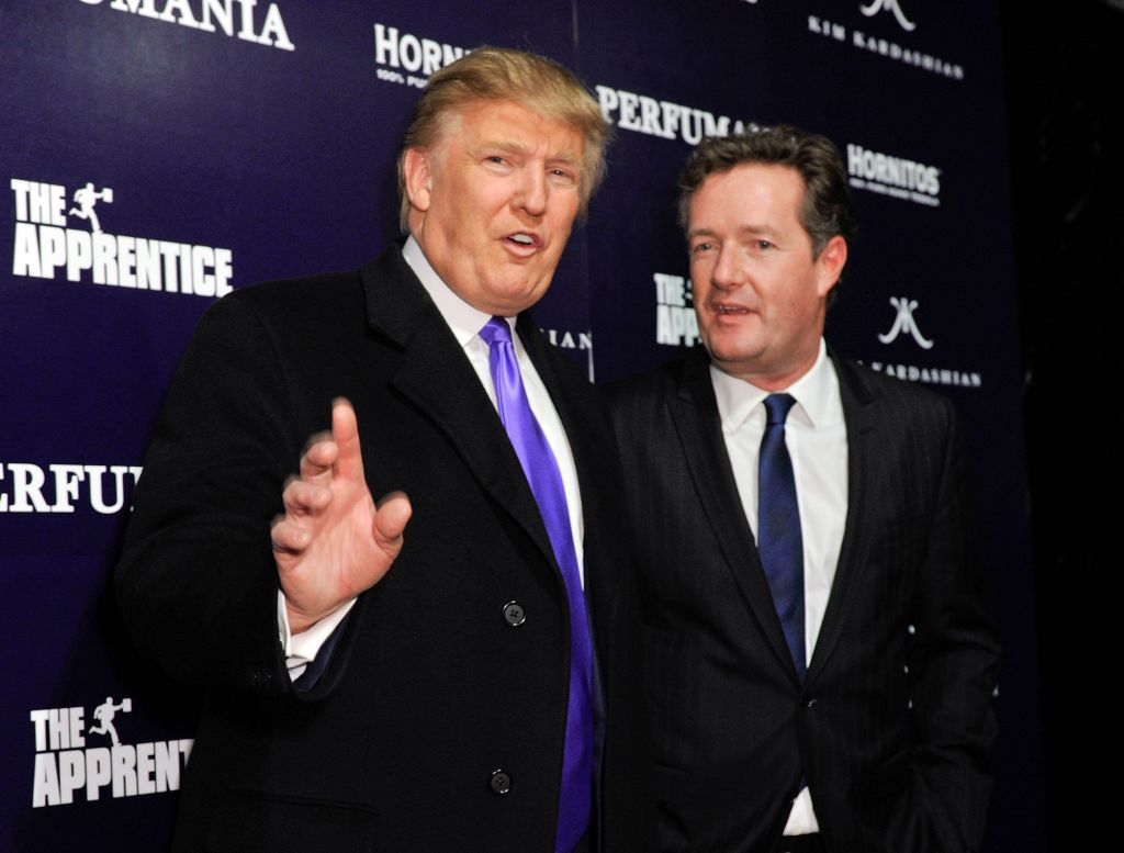 Piers Morgan Hits Out At Those 'Spewing Gleeful Joy' At Trump's Covid Diagnosis