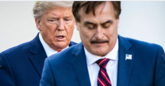 mypillow guy mike lindell shouts out