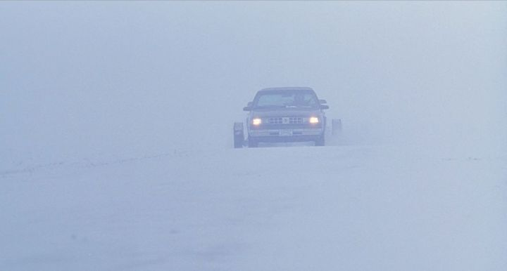 "The opening scene of ""Fargo"" on Netflix."