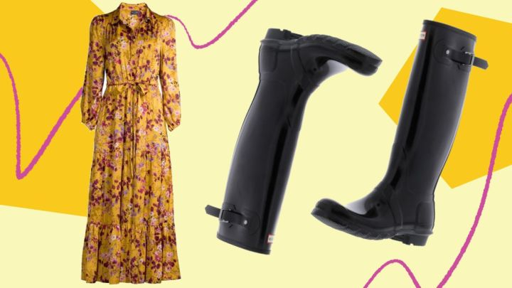 Walmart Prime Day deals on clothes and shoes, including rain boots and fall dresses.