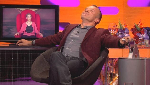 Graham Norton Reveals Secret Covid Makeover To His Big Red Chair – But You Won't Have Noticed