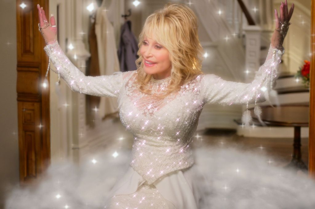 Dolly Parton's New Christmas Film Looks Even More Camp Than We Thought Possible