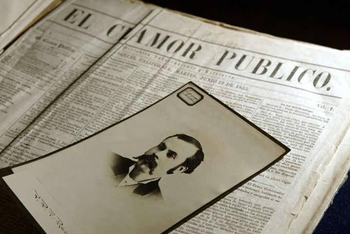 El Clamor Publico was California's first Spanish-language newspaper, founded by a 17-year-old printer named Francisco P. Ramirez.