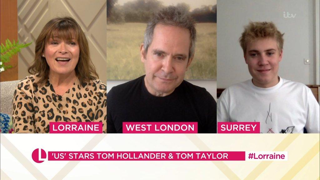 Lorraine Kelly Sticks Up For Tom Hollander After Interview Is Branded A 'Car Crash'