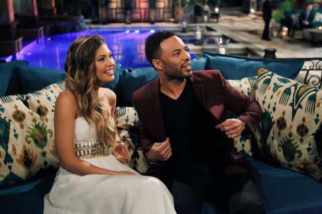 "Jonathan Holloway with Britt Nilsson during season 11 of ""The Bachelorette."""