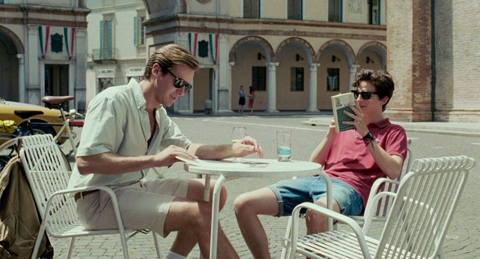 """Armie Hammer and Timothée Chalamet in """"Call Me by Your Name."""""""