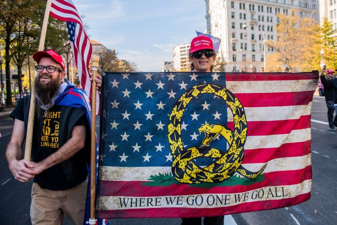 WASHINGTON D.C. 14 Νοεμβρίου 2020 Υποστηρικτές...