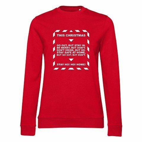 Stay Covid Christmas Jumper
