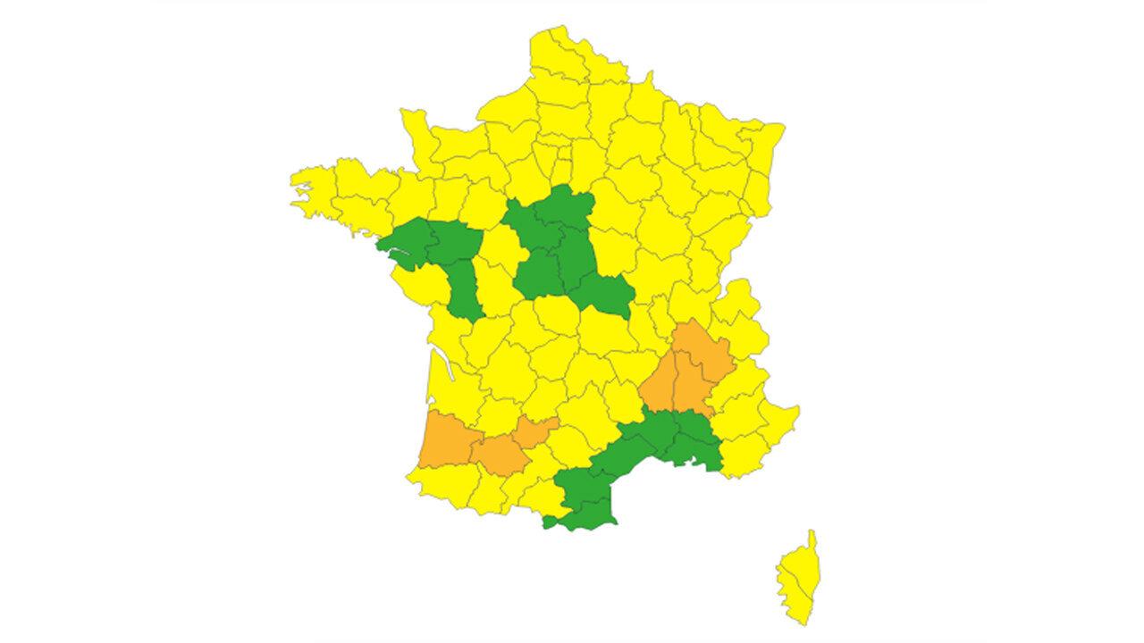 Six départements sont désormais placés en vigilance orange ce jeudi 31 décembre par Météo France. Trois...
