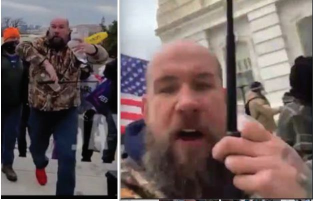 Scott Fairlamb is charged with attacking cops during the assault on the U.S. Capitol.