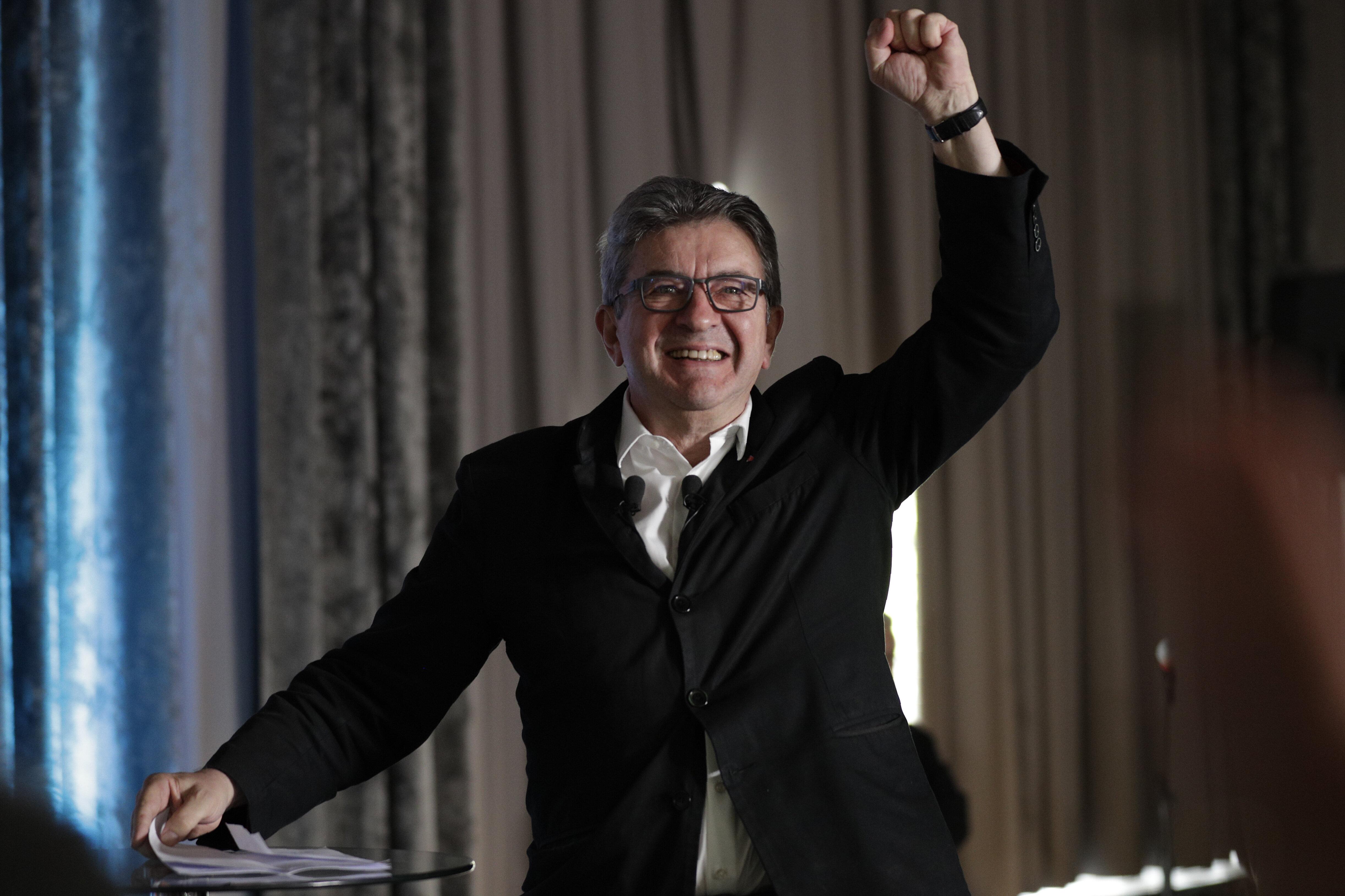 Le député et patron de La France Insoumise (LFI) Jean-Luc Mélenchon le 23 juin 2019 à