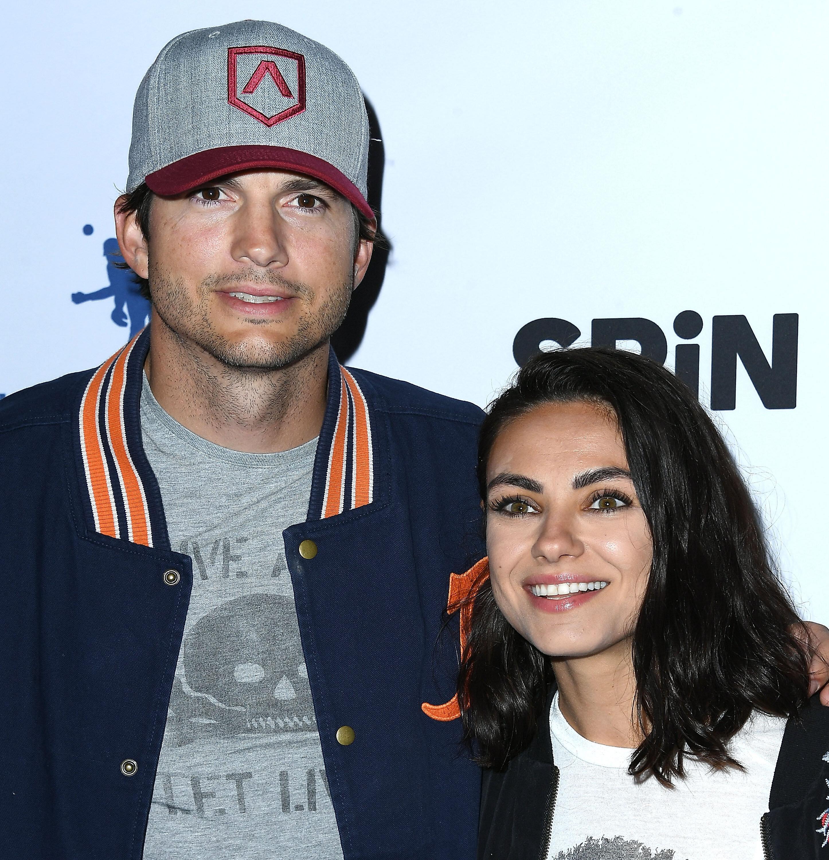 Ashton Kutcher et Mila Kunis à l'évènement