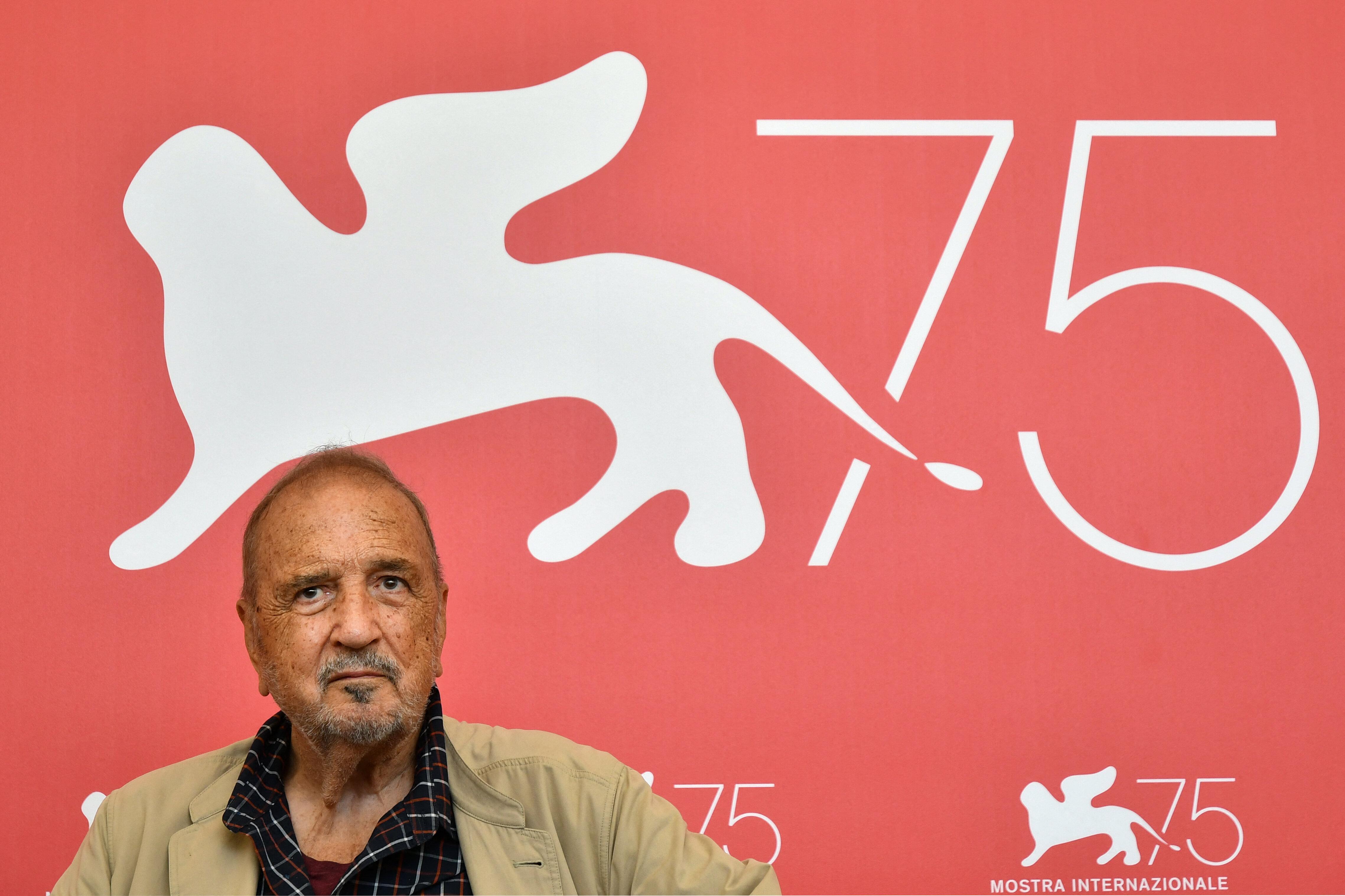 Mort de Jean-Claude Carrière, l'écrivain et scénariste avait 89 ans (photo du 3 septembre 2018 à Venise....