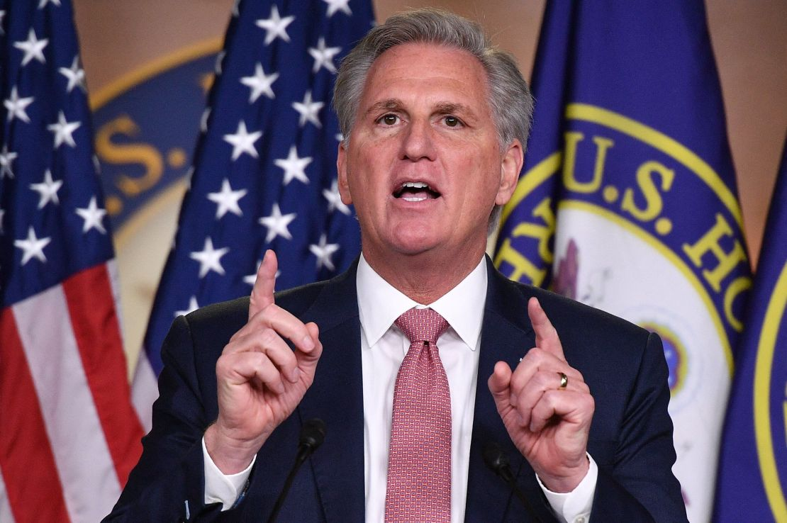 Rep. Kevin McCarthy, the top House Republican, tried to suggest at a recent news conference that the GOP challenges to Biden&