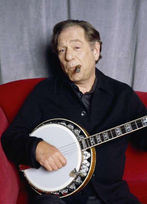 George Segal also played the banjo.