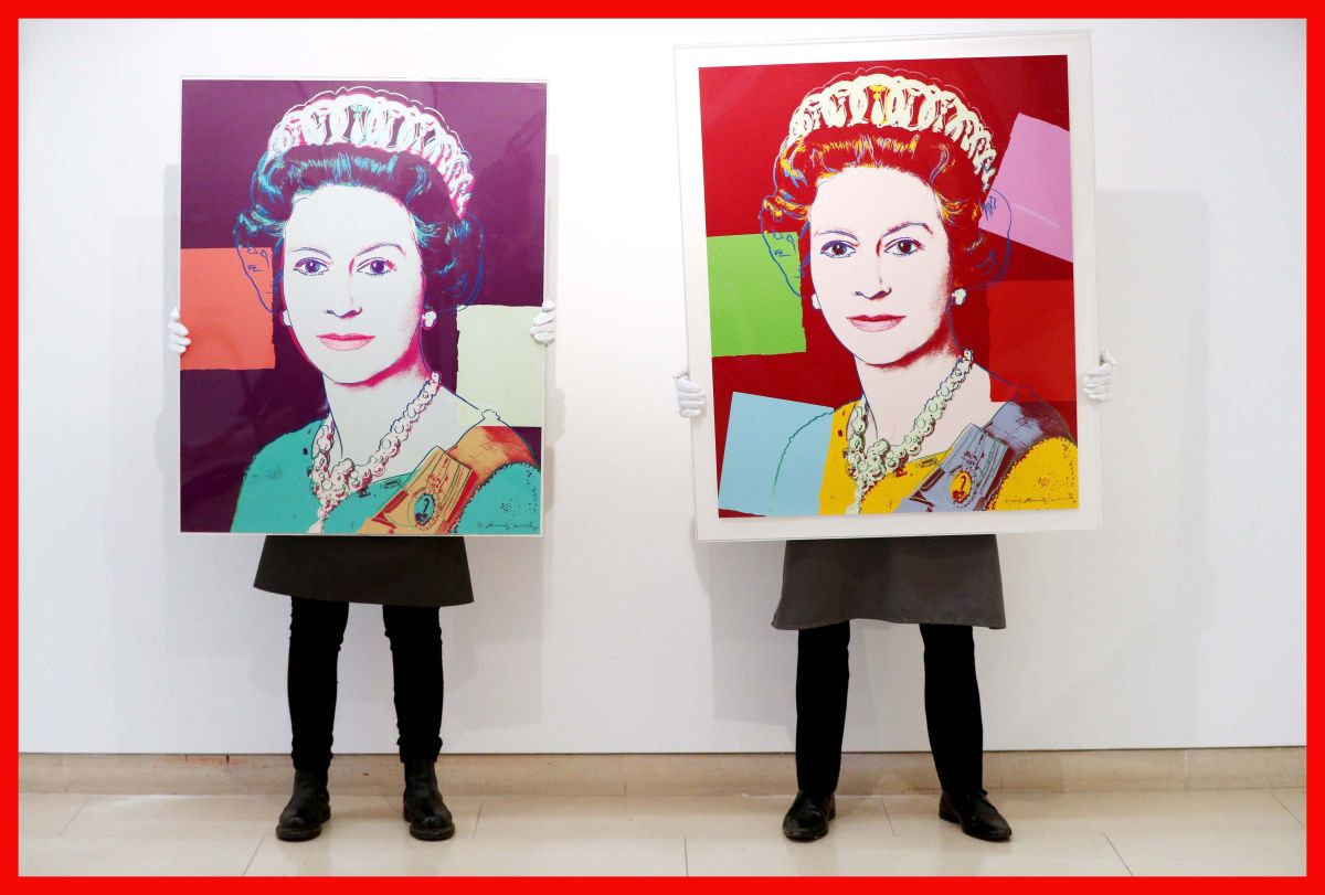 Reigning Queens screenprint by Andy