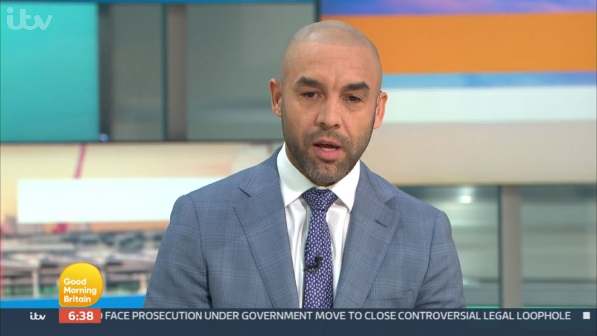 Alex Beresford in the GMB