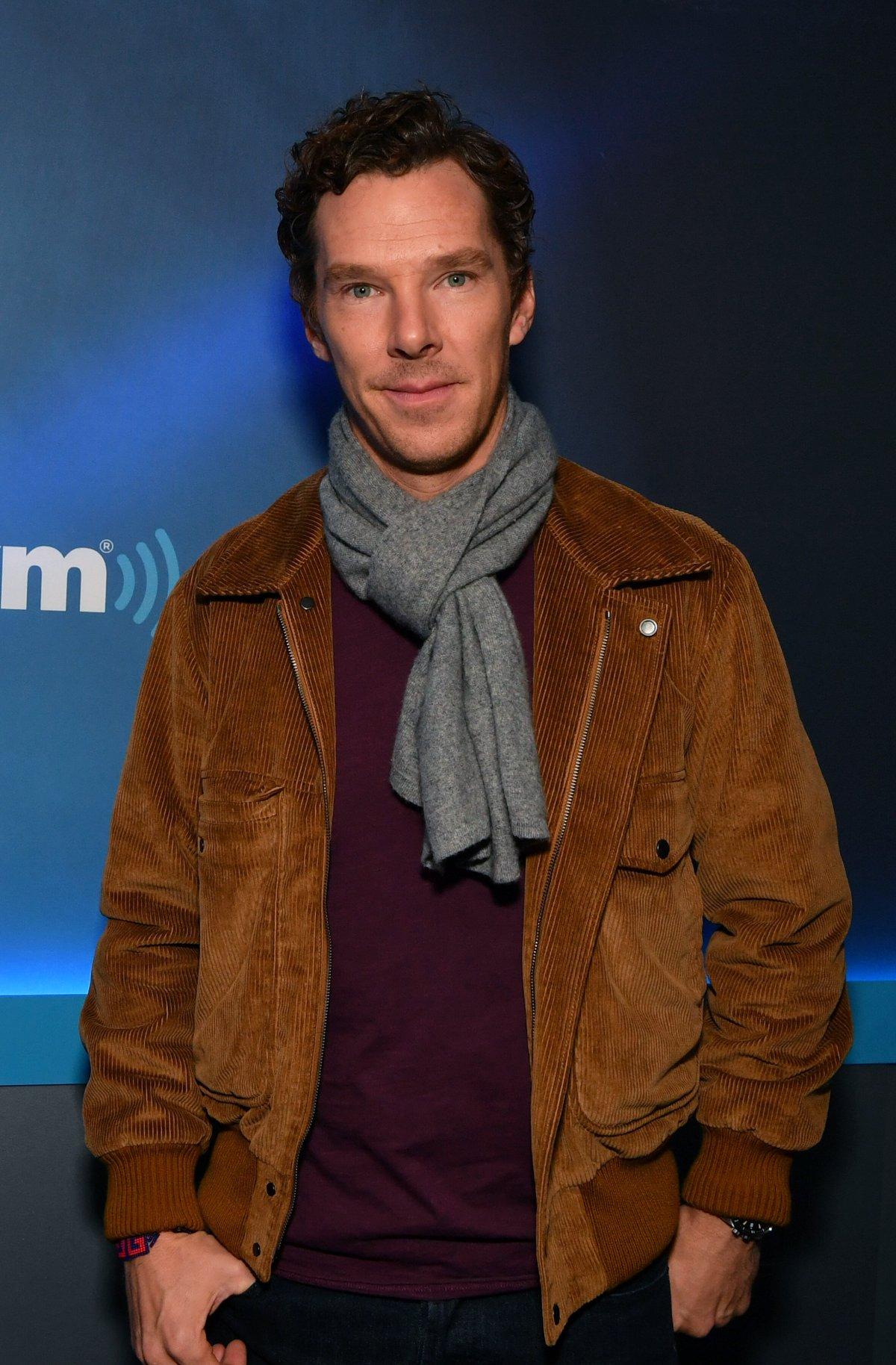 Benedict Cumberbatch in October