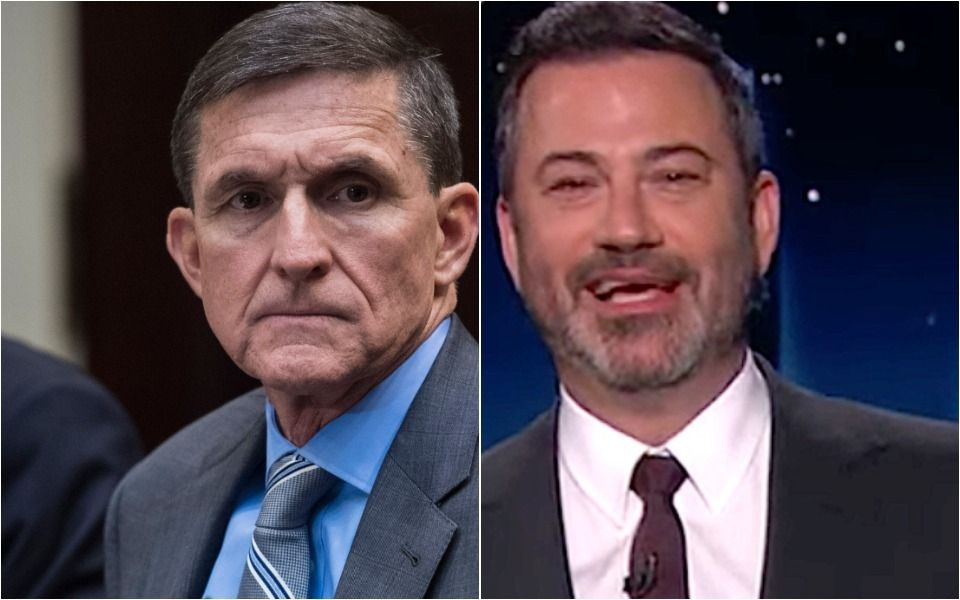 Michael Flynn Flubs The Pledge, And Jimmy Kimmel Has The Perfect Response