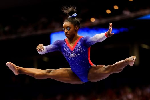 Simone Biles Stuns Crowd With Electrifying U.S. Olympic Trials Routines 2