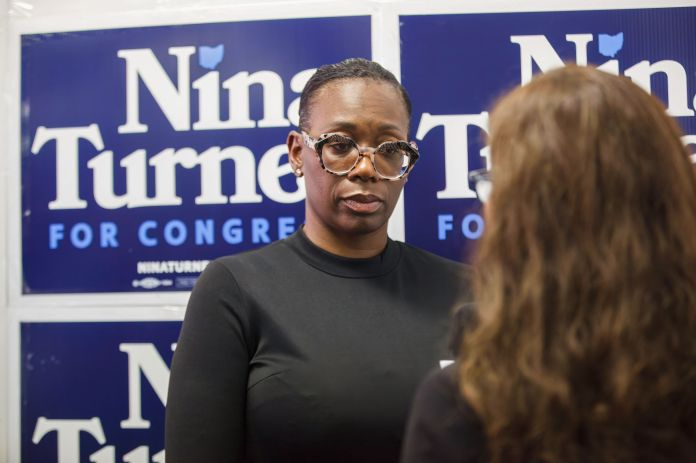 Nina Turner, a left-wing rockstar, reintroduced herself to voters as a loyal Democrat with local roots. But her recent histor