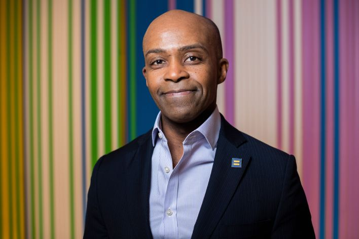 Alphonso David, president of the Human Rights Campaign, is the subject of an investigation into whether heinappropriate