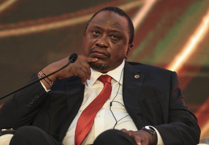 Kenyan President Uhuru Kenyatta was one of many prominent politicians identified as beneficiaries of secret offshore accounts