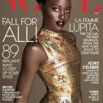 LOTD: Lupita Nyong'o's US Vogue October 2015 cover + opulent autumn look