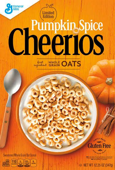 Image result for pumpkin spice Cheerios