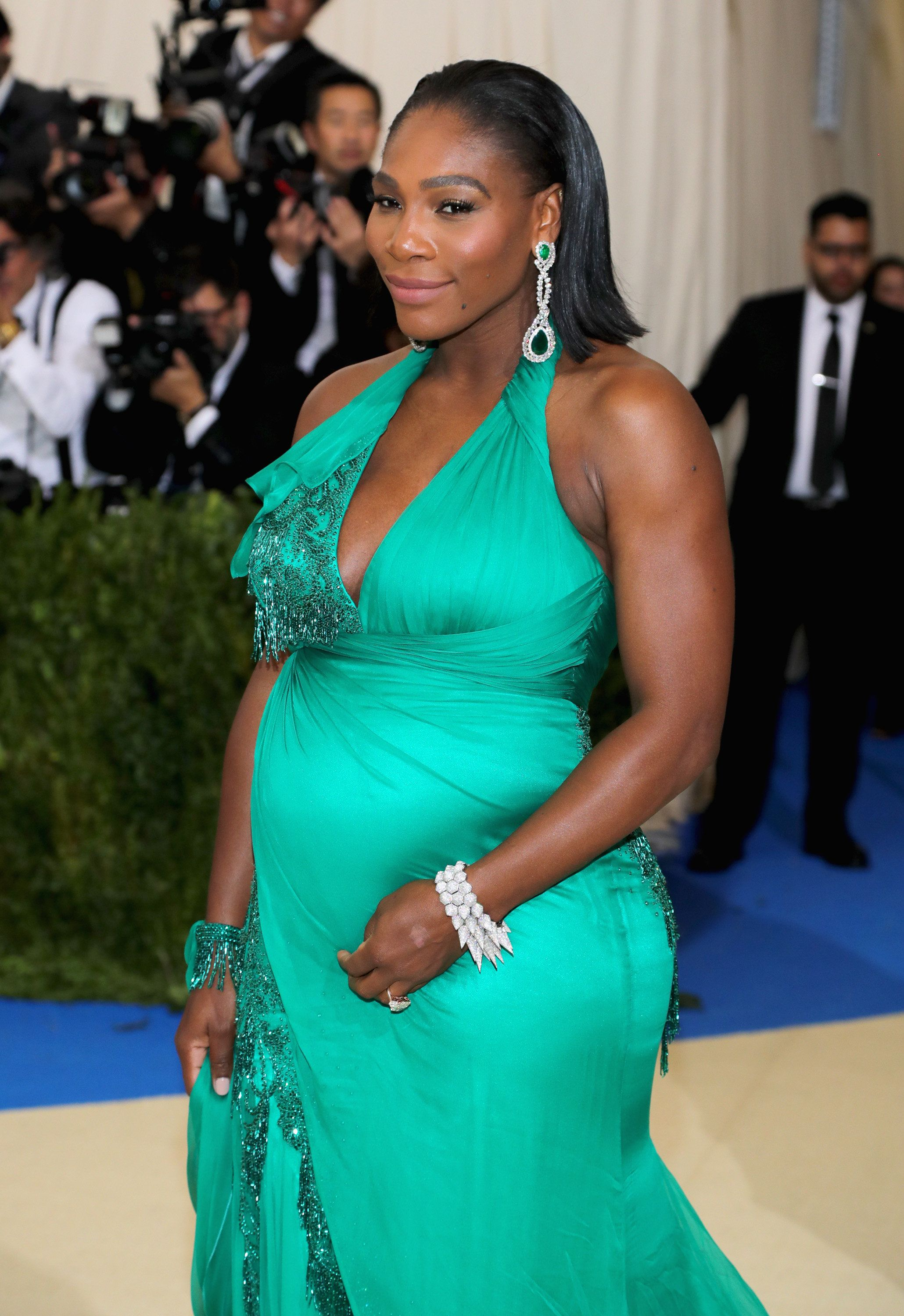 Image result for serena williams at The MET GALA  getty image