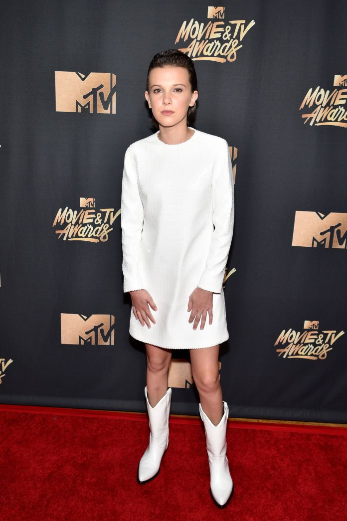Of Course The 'Stranger Things' Kids Took Over The MTV Movie & TV Awards 590fb6981700001f005a5418