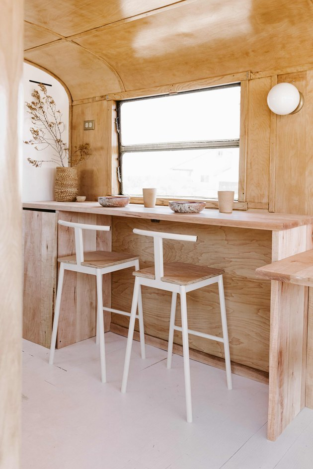 dining space with desert decor