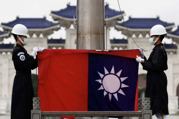 Taipei's representative office in Lithuania will be the first in Europe to use Taiwan in the official name. Photo: EPA-EFE