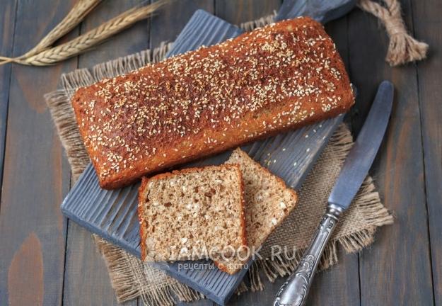 Рецепт хлеба по Дюкану в духовке
