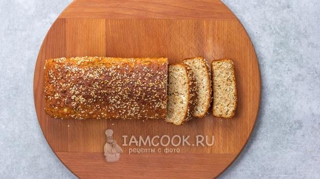 Фото хлеба по Дюкану в духовке